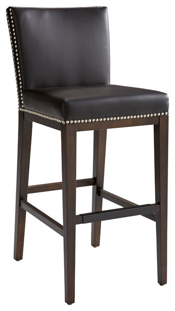 Vintage-Style Bar Stool Brown transitional-bar-stools-and-counter  sc 1 st  Houzz & Vintage Barstool - Transitional - Bar Stools And Counter Stools ... islam-shia.org