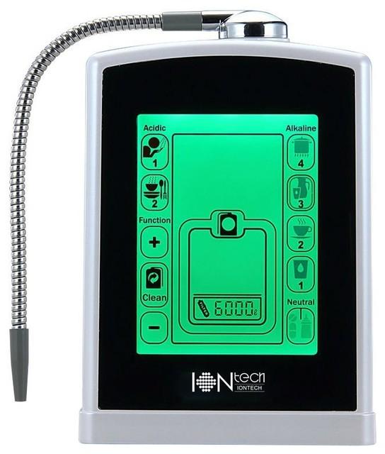 Touch Screen Alkaline Water Ionizer Iontech It 588