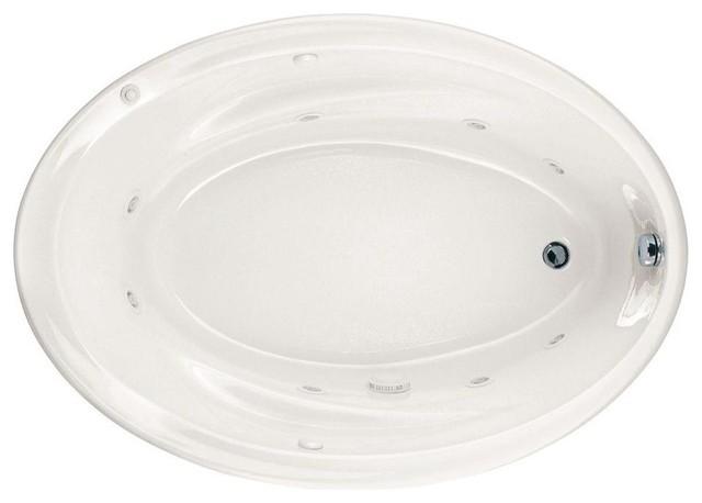 Savona Everclean Whirlpool Tub, White,  5 Ft..