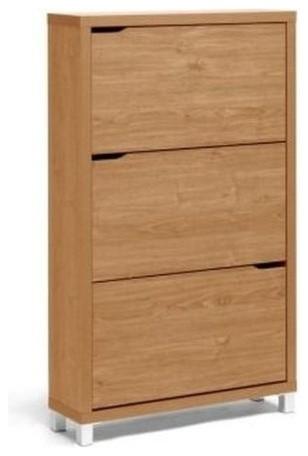 Simms Maple Modern Shoe Cabinet.