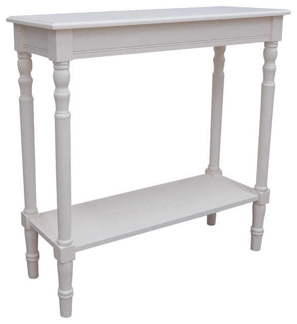 Newport Rectangular Side Table Cream