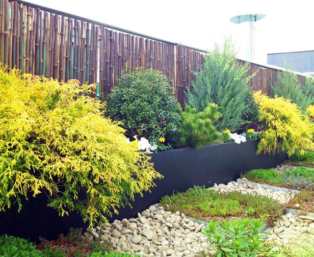 Tribeca Roof Garden Paver Deck Terrace Sedum Trays