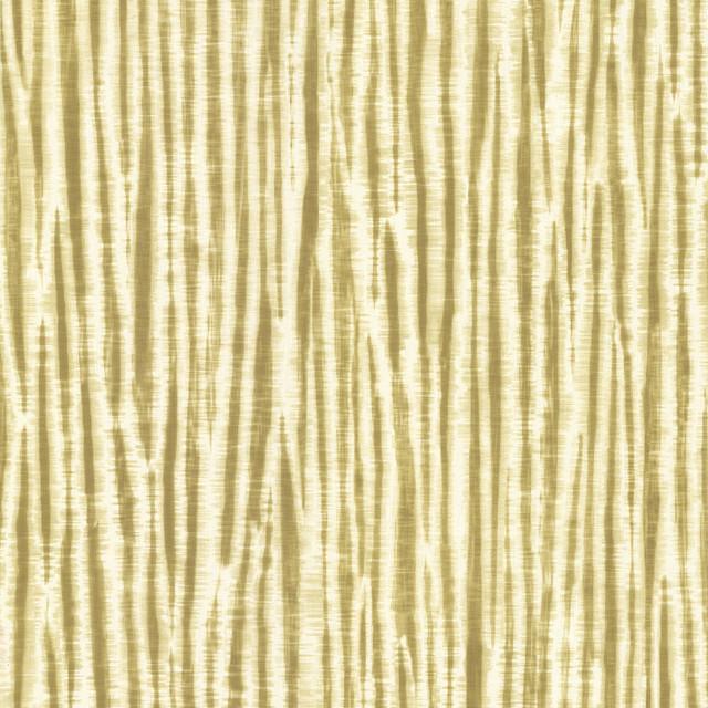 Chios Golden Green Stripe Wallpaper Swatch