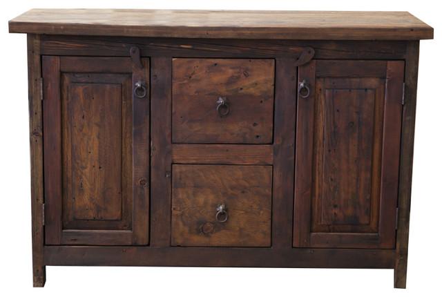 Reclaimed barnwood vanity 10109 rustic bathroom - Robertson reclaimed bathroom vanity ...