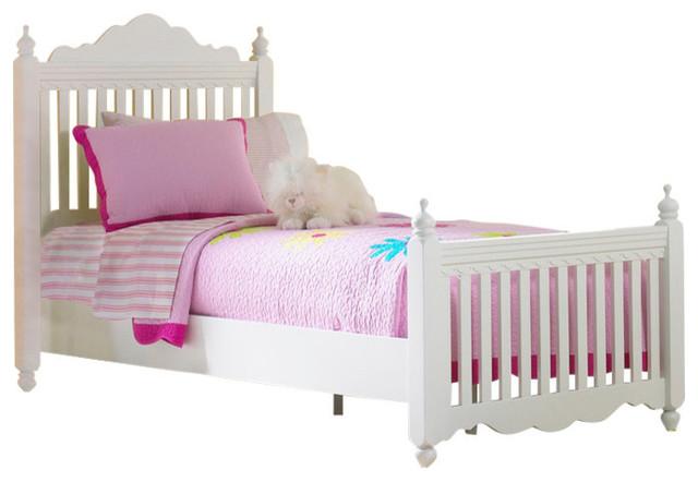 Lauren Post Bed, With Rails