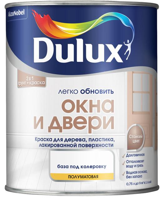 Краска Dulux для окон и дверей
