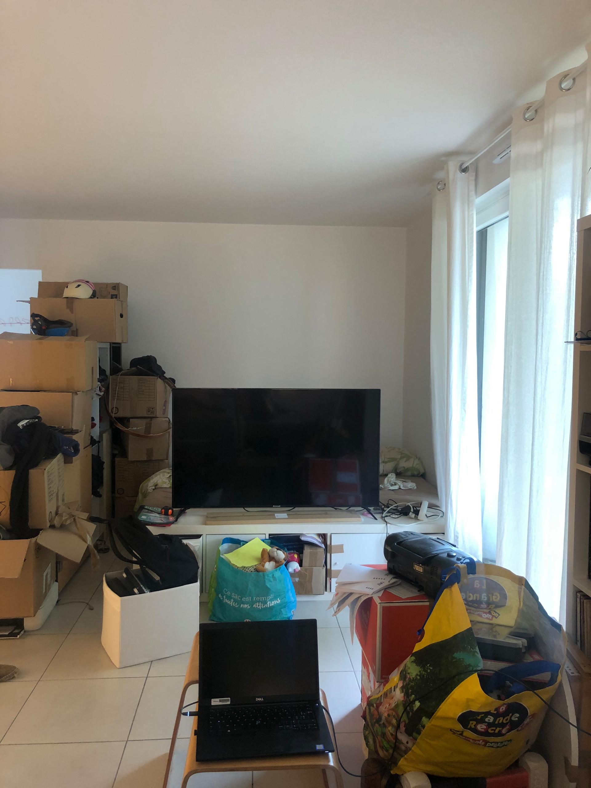 Appartement K - Conception pour la création d'une chambre parentale dans un espa