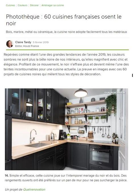 5 Février 2019 : Photothèque : 60 cuisines françaises osent le noir