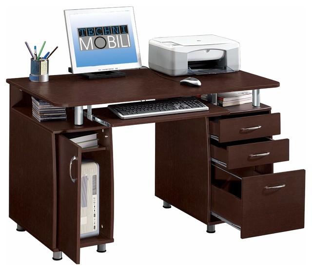 shop houzz techni mobili complete computer desk