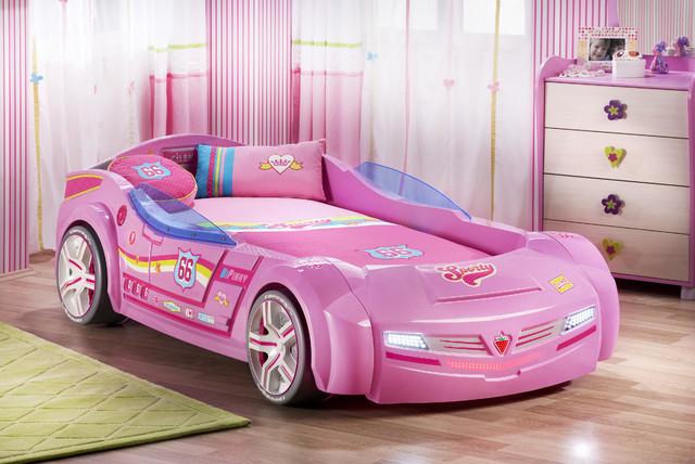 kids car bedroom for girls pretty in pink modern kids