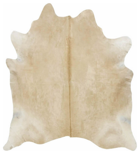 solid light palomino cowhide rug contemporary novelty rugs reindeer hide uk buffalo animal for sale
