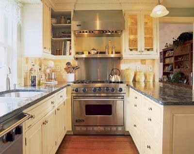 Extra Deep Counters In Galley Kitchen Min Aisle Width Needed