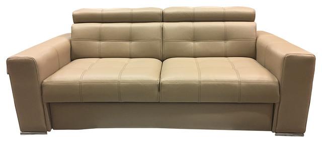 Irys Sleeper Sofa, Beige.