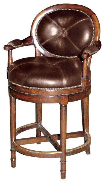Swell Theodore Alexander Classic Yet Casual Overlooking Vineyards Barstool Short Links Chair Design For Home Short Linksinfo