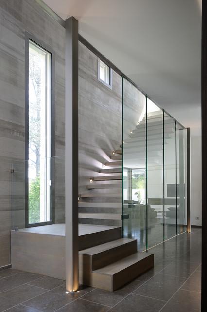 villa b contemporain lyon par laurent guillaud lozanne architecte dplg. Black Bedroom Furniture Sets. Home Design Ideas