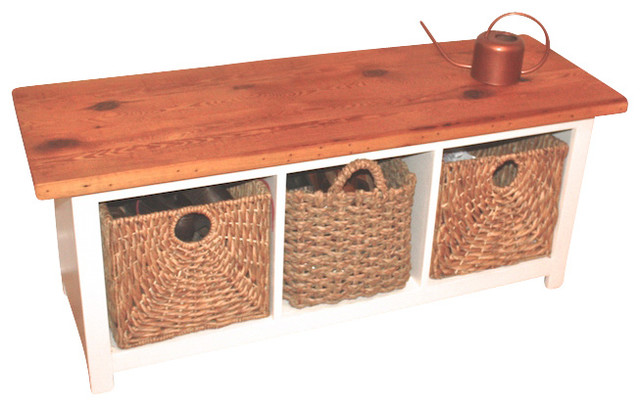 Awesome Reclaimed Wood Entryway Cubby Bench Farmhouse Accent And Storage Benches