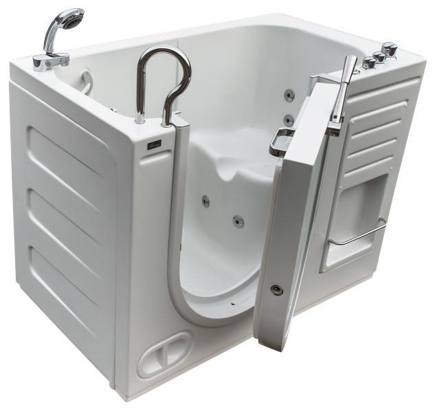51 X30 Walk In Ada Compliant Bathtub Contemporary Bathtubs B