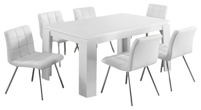 Monarch Specialties Dining Table 36 X60 White I1056