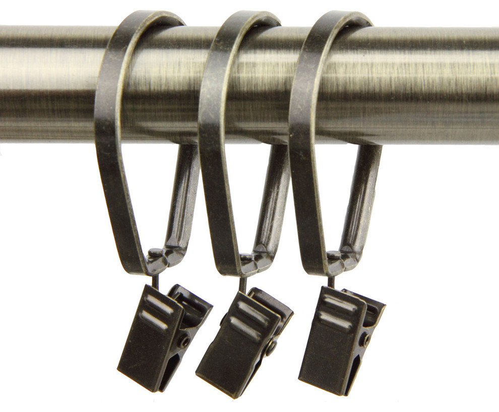 Rod Desyne 10 Pivot Curtain Rings With