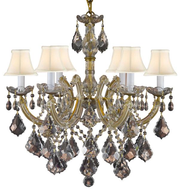 Yvette Crystal Chandelier: Gallery Maria Theresa Crystal Chandelier Empress Crystal