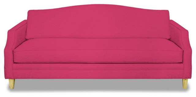 Blackburn Ave Sofa, Pink Lemonade.