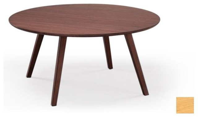 Greenington Greenington Currant Round Coffee Table In Classic Bamboo View In Your Room Houzz