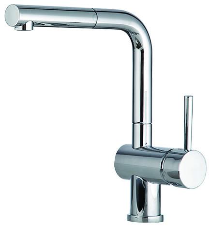 gattoni easy s lever sink mixer p out sp chrome 100