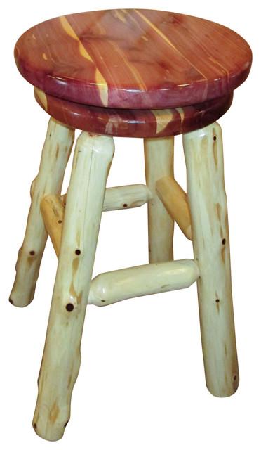 Shop Houzz Furniture Barn Usa Rustic Red Cedar Log
