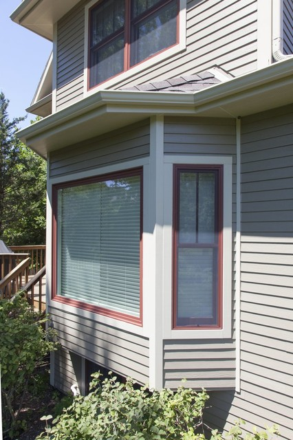 New Look After New Siding Windows Roof And Exterior Design American Traditional Chicago By Opal Enterprises Inc