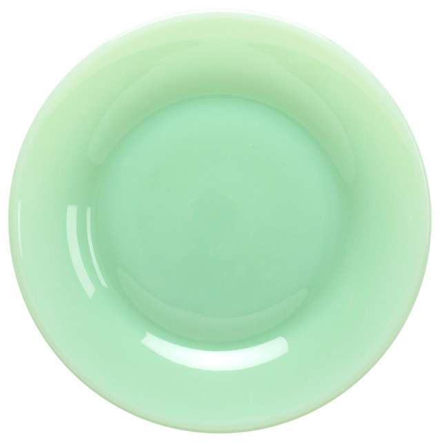 Mosser Glass 10  Nicole Jade Green Plate  sc 1 st  Houzz & Mosser Glass 10
