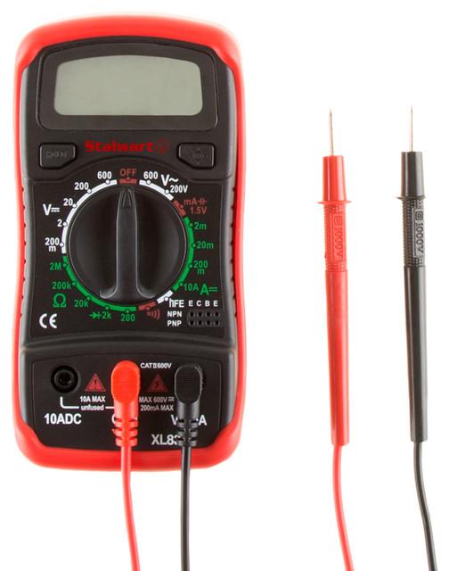 Stalwart Digital Multimeter Tester Volt Amp Ohm Frequency contemporary ...