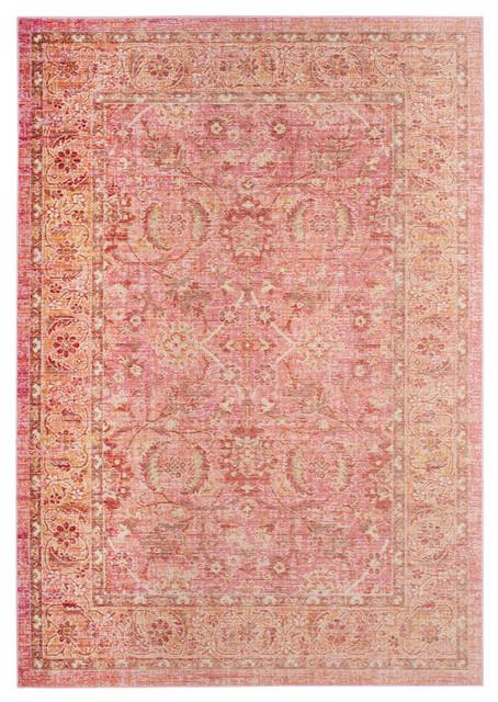 Safavieh Windsor Woven Rug, Pink/orange, 9&x27;x13&x27;.