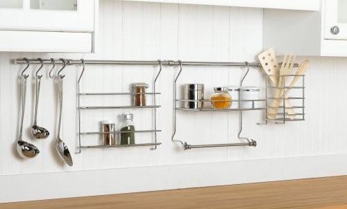 The Hanging Magic of Kitchen Wall Rail Organization