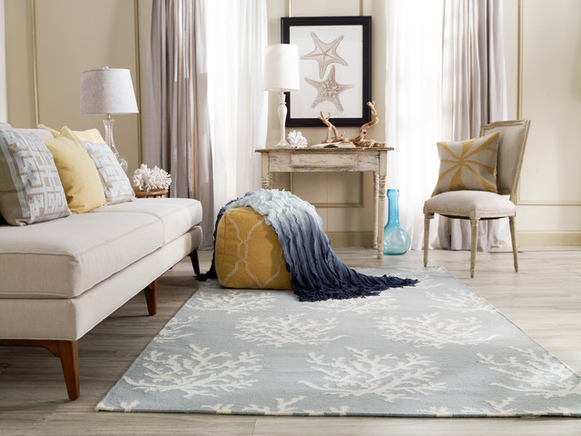 Contemporary Living Room Rug surya boardwalk rug (bdw-4010) - contemporary - living room