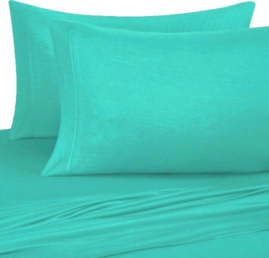 Twin XL Sheet Set, Jersey Knit   Contemporary   Sheet And