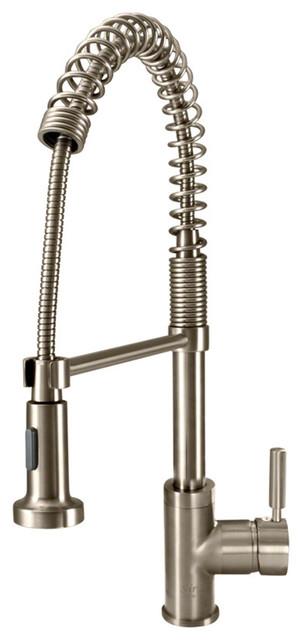 766 Spring Spout Kitchen Faucet Contemporary Kitchen