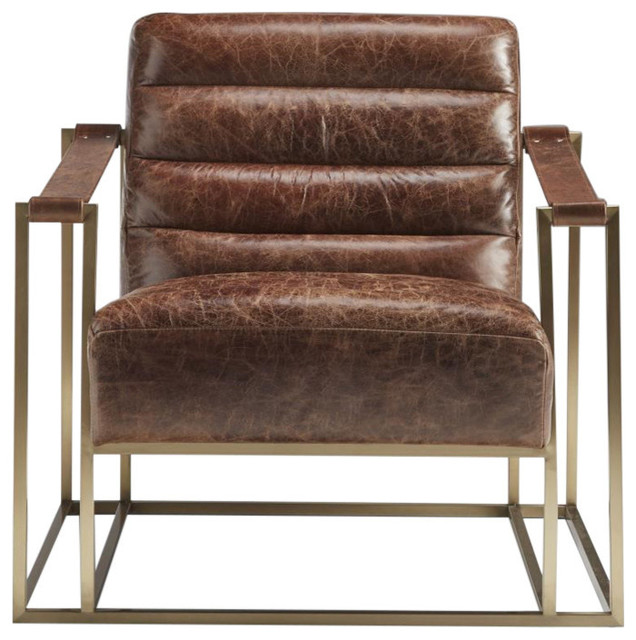 Lazzaro Leather Ames Leather Sling Chair