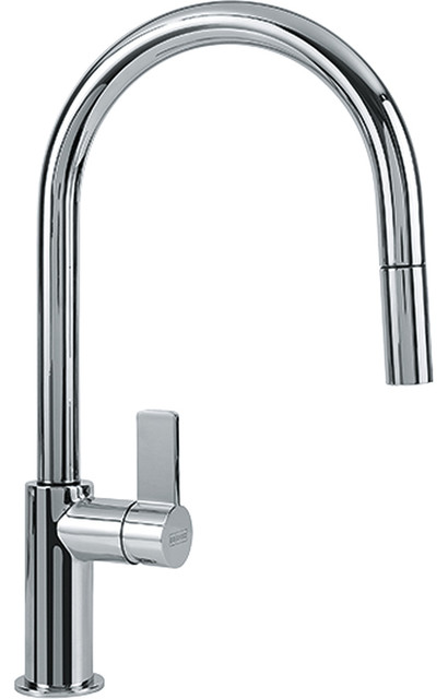 Franke Franke Ff3100 Ambient Pull Down Kitchen Faucet Polished Chrome Reviews Houzz