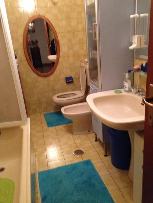 il mio nuovo bagno