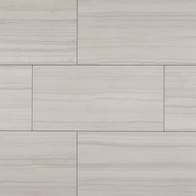 Sophie White 12 X 24 Glazed Porcelain Floor And Wall Tile Sq