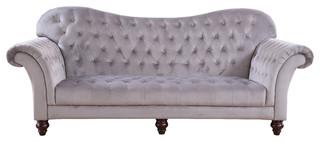 Classic Tufted Velvet Victorian Sofa Victorian Sofas