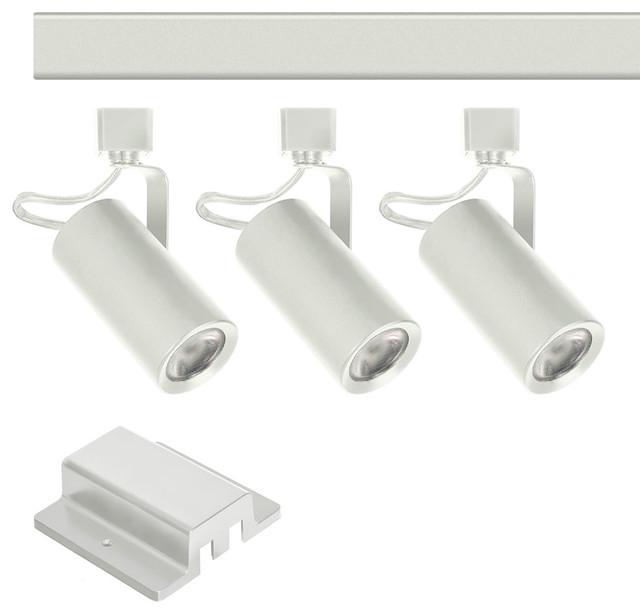 Jesco 3 Light Cob Led 4 Track Lighting Kit