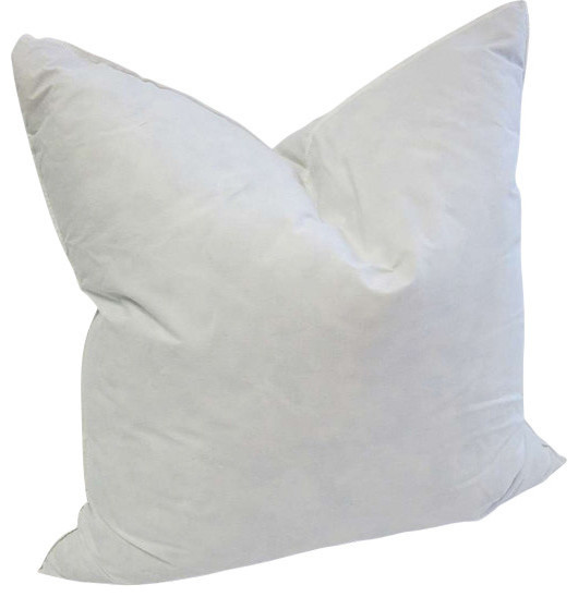 High Quality DownFeather Pillow Insert Modern Decorative Beauteous Down And Feather Pillow Inserts