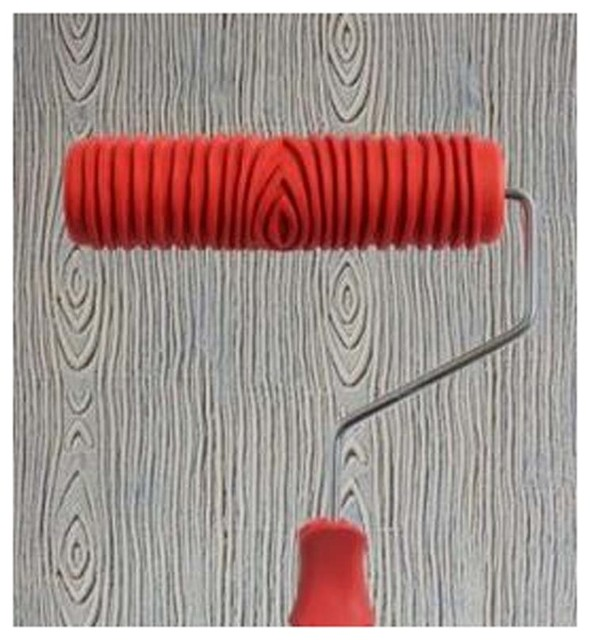 Embossed Paint Roller Wall Painting Runner Wall Decor Diy Tool 175