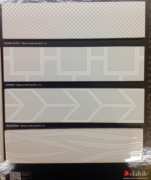Just In Daltile S Showscape Ceramic Wall Tiles With Visual Imaging They Have Actual Texture The Designs Too 12x24