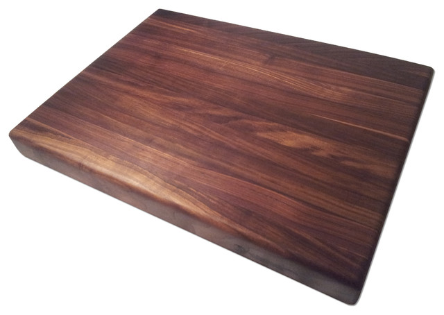 Armani Fine Woodworking Edge Grain Walnut Butcher Block