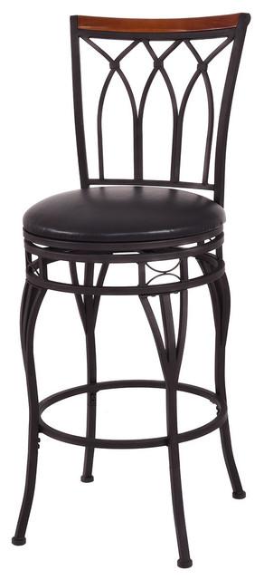 Pleasing Costway Vintage Swivel Bar Stool 24 28 Height Adjustable Padded Seat Chair Short Links Chair Design For Home Short Linksinfo