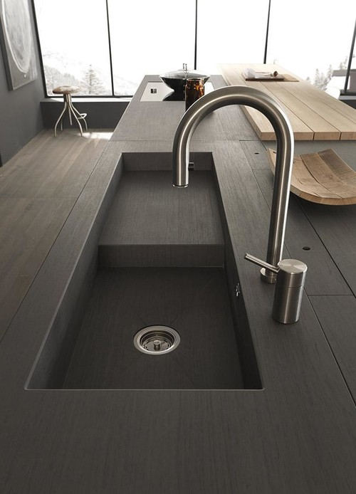 blade runner kitchen sink is this a dekton countertop custom sink 4773