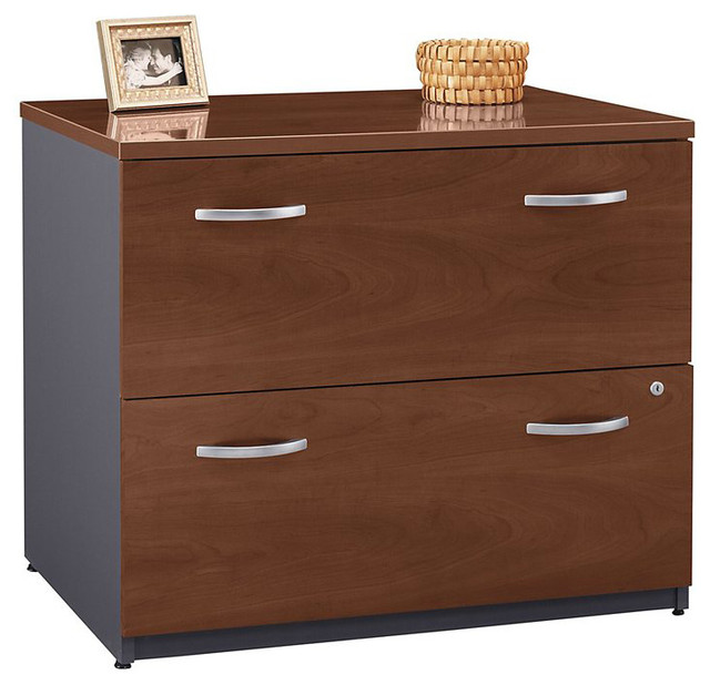 BBF Series C 36W 2-Drawer Lateral File - Transitional - Filing Cabinets - by Homesquare