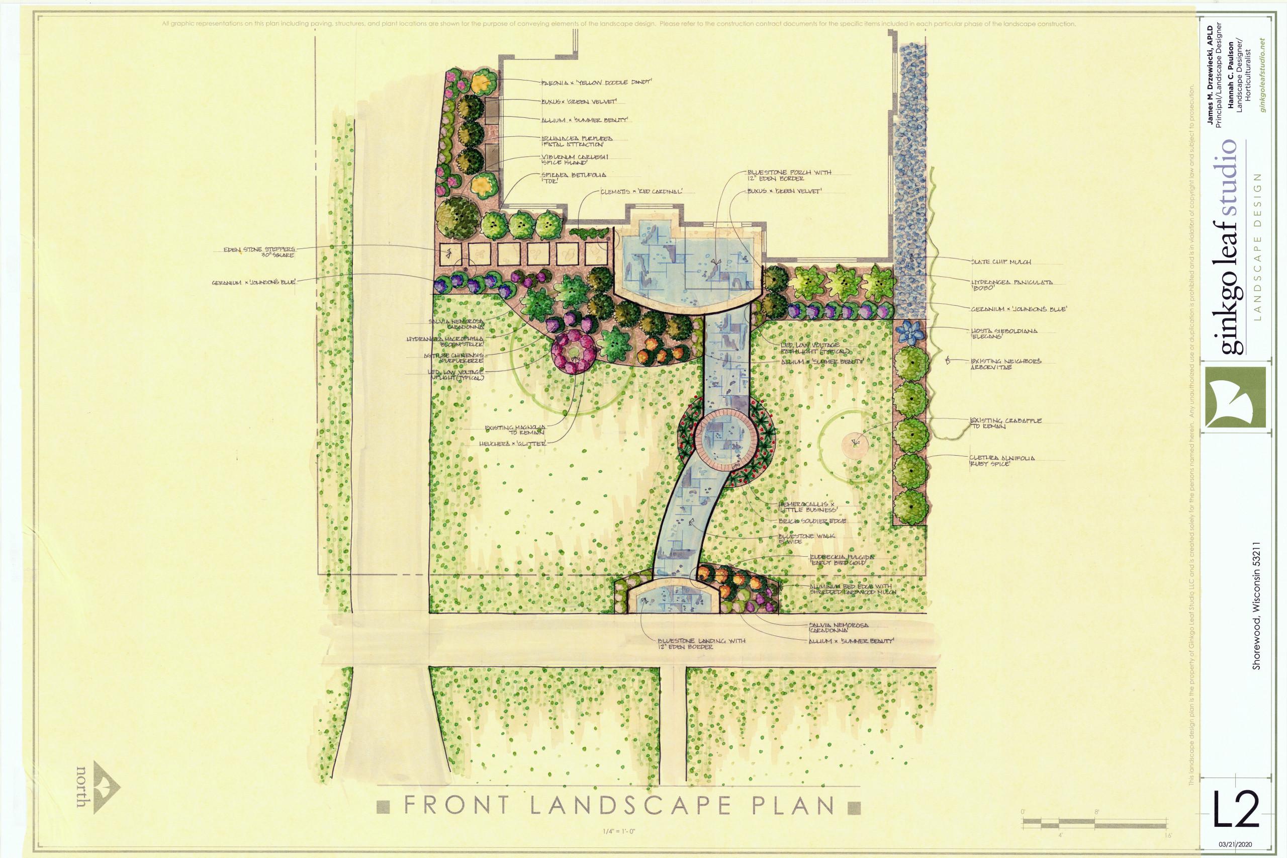 Traditional Landscape Renovation - Shorewood
